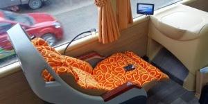 tempat duduk Bis buatan maxi miracle